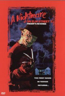 A Nightmare on Elm Street 2: Freddy's Revenge (1985), New Line Cinema with Mark Patton, Kim Myers, and Robert Englund. I was disappointed with this one.