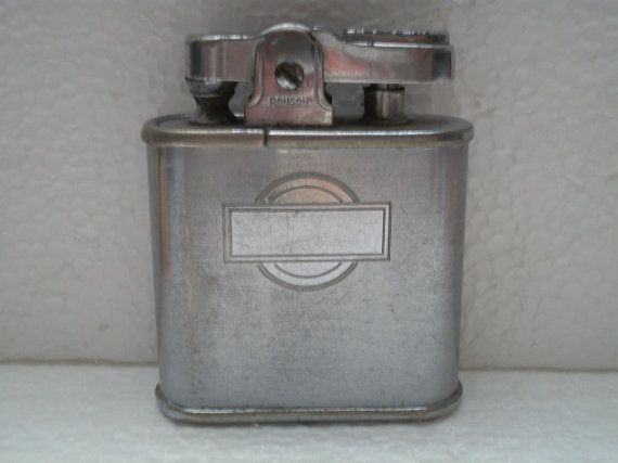 Antique 1941-42 Ronson Whirlwind Lighter pat by ALEXLITTLETHINGS