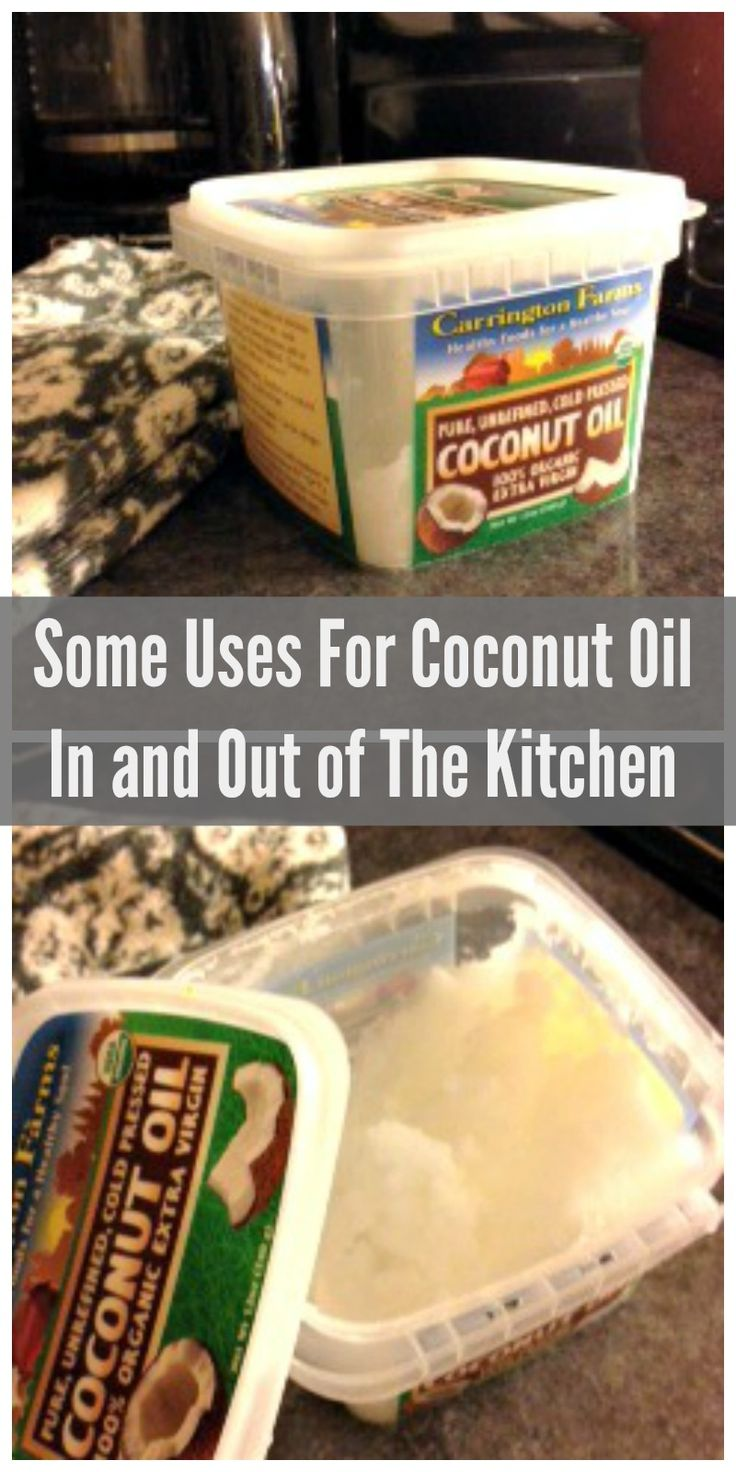 Some Uses for Coconut Oil In and Out of the Kitchen