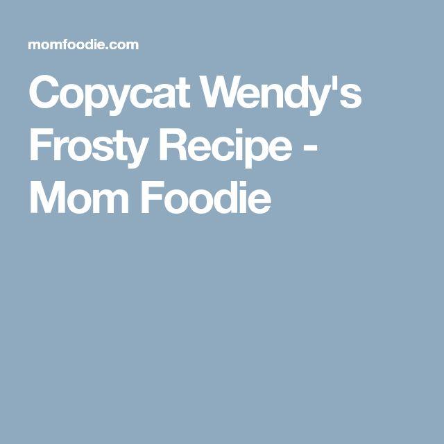 Copycat Wendy's Frosty Recipe - Mom Foodie