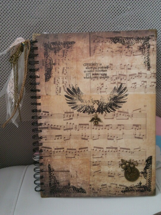 A journal for my daughters last yr at school,to fill with memories