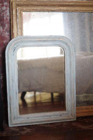 Miroir Louis Philippe style shabby chic vintage #vintagedecor #vintagefurniture #mirror #vintage #shabbychic