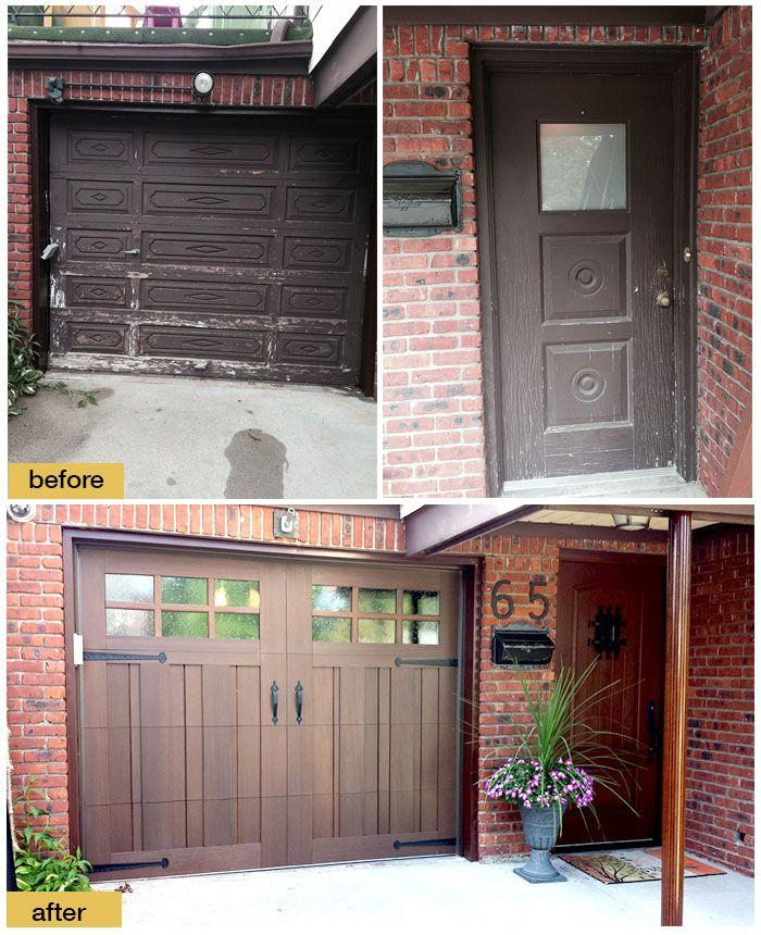 91 best clopay faux wood garage doors images on pinterest for Faux garage door