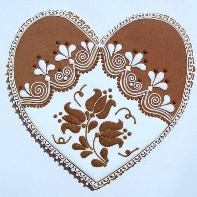 Hungarian Gingerbread Heart