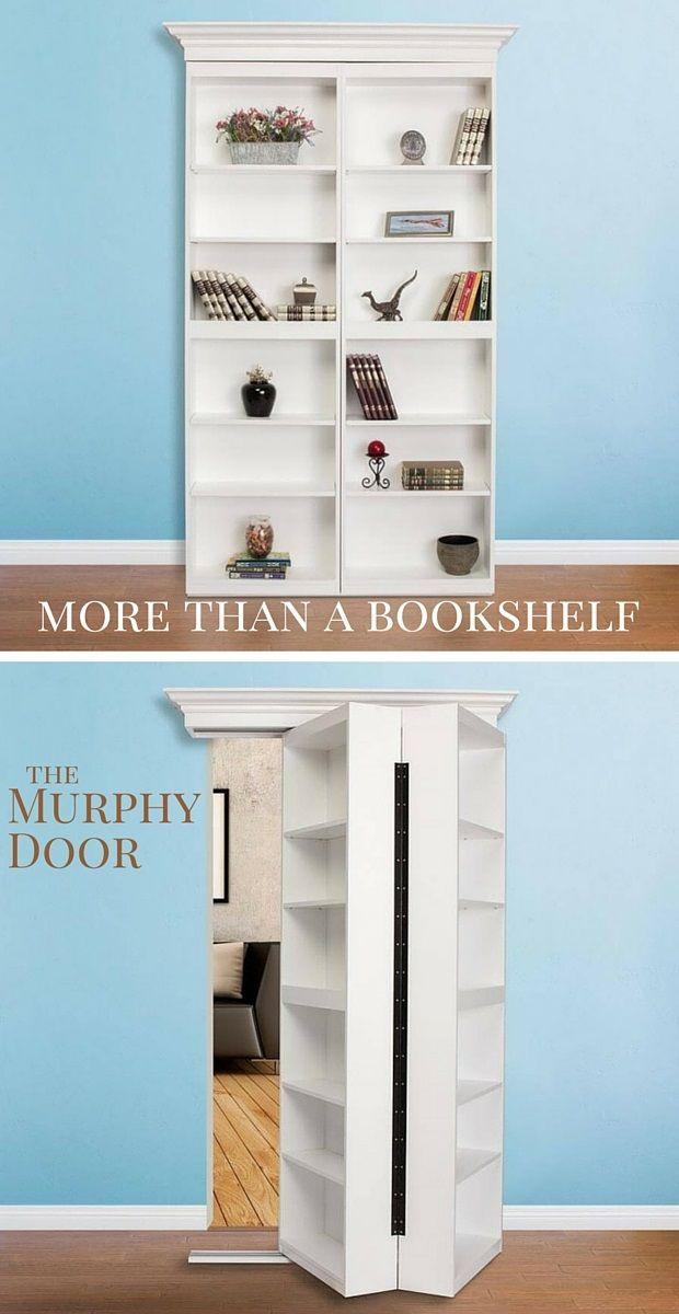 Create The Perfect Reading Nook With The Surface Mount Hidden Door From  Murphy Door. It