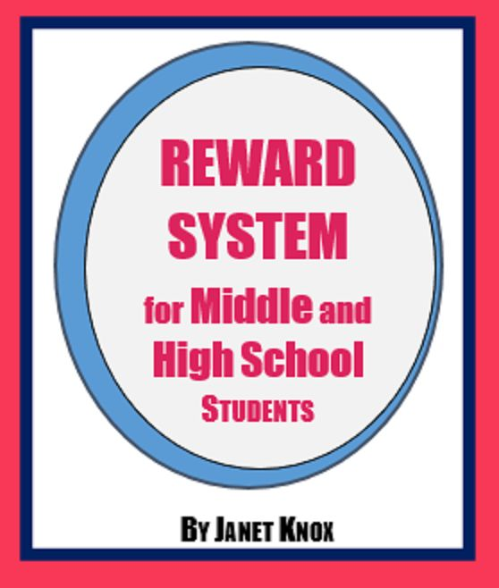 Tired of buying candy? Use these reward sheets to provide weekly incentives. http://www.teacherspayteachers.com/Product/Reward-System-for-High-School-or-Middle-School-Students-079889400-1384406161