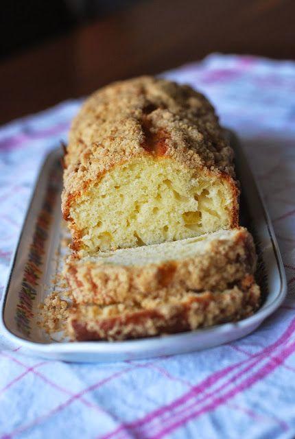 Le Grand Bazaar: Le meilleur cake du Meilleur Pâtissier... Cake au yaourt pomme et crumble à la cannelle.