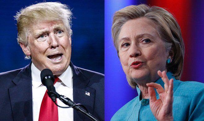 Pagi ini,  debat sengit  Hillary  Vs Trump disaksikan jutaan masyarakat Indonesia