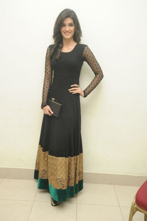 floor length black and gold with green border