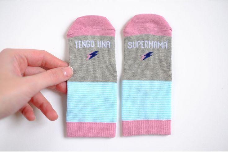 Calcetines Tengo una Supermamá
