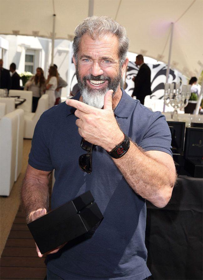 Ten By Fifteen aime aussi prendre soin des stars: Mel Gibson pendant la soirée The Expendables 3 - De Grisogono  #FIF2013 #theexpendables