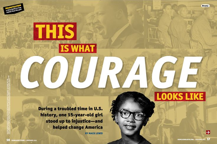 Claudette Colvin became a hero of the civil rights movement when she was just 15 years old. After reading Scope mag's play about this amazing woman, check out these ideas for how to keep the learning going.