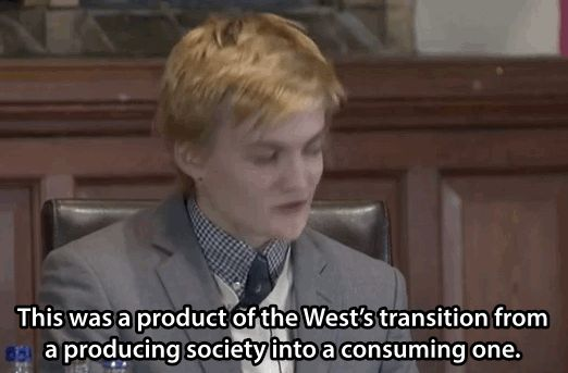 """Watch Prince Joffrey From """"Game Of Thrones"""" Give A Charming, Smart Speech About Celebrity Culture Jack Gleeson"""