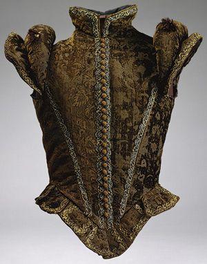 Spanish Jerkin, ca. 1580, The Met, NY