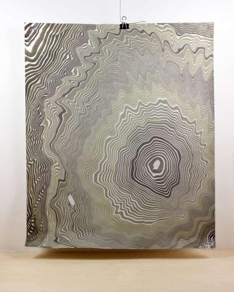 Suminagashi Marbled Paper