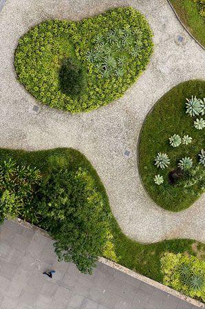 Terrace Garden on former Government Building, Rio de Janeiro/Lalo de Almedia by Robert Burle Marx