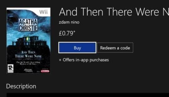 "Xbox One Store Listing Has A Nintendo Wii Game Cover Which Microsoft Hilariously Missed: ThisGenGaming says ""In a funny story today, a…"