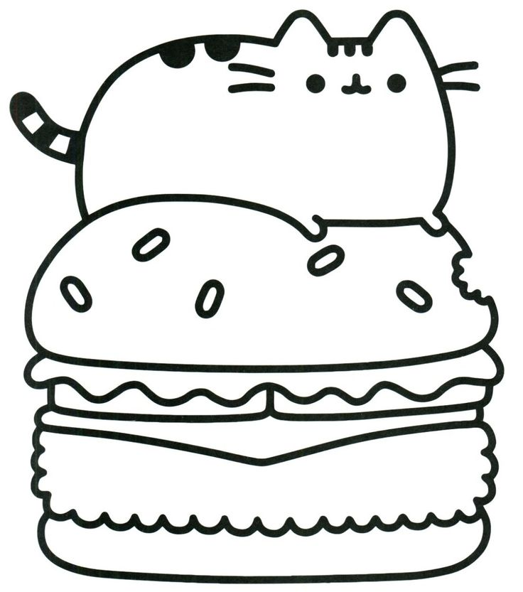 25+ Inspired Photo of Pusheen Cat Coloring Pages in 2020