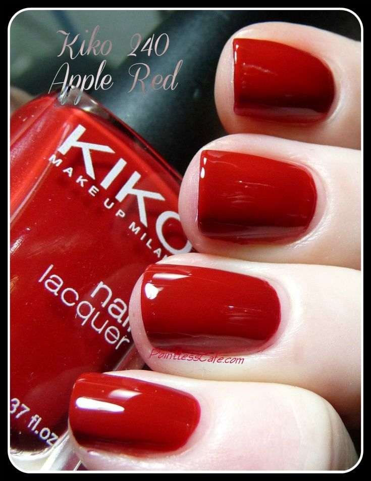 Kiko Milano : 240 Apple Red