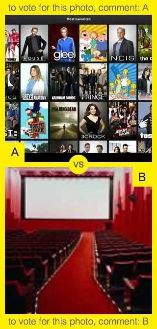 A or B? To vote for top photo comment A, to vote for bottom photo comment B. See results at http://swingvoteapp.com/#!polls/5382. Click here http://swingvoteapp.mobi/ to install Swingvote mobile app and create your own polls.