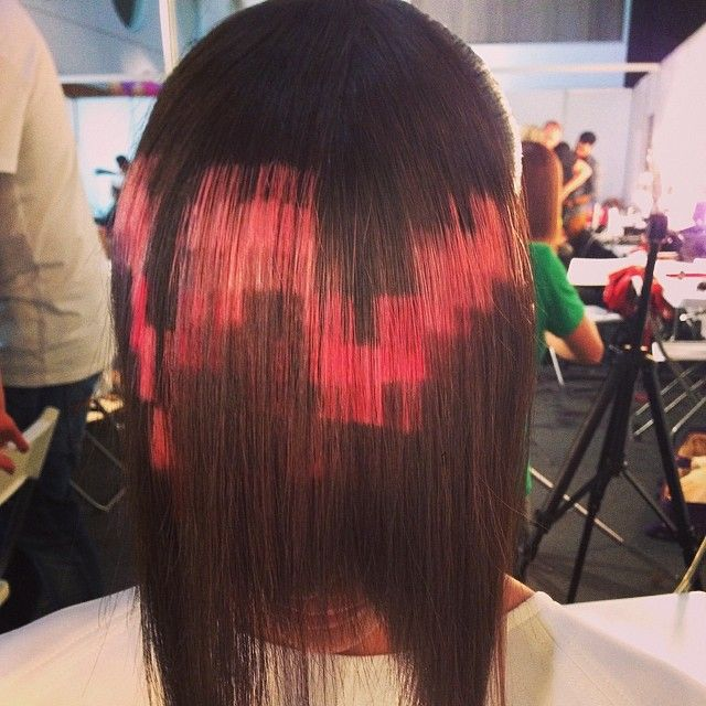 Pixelated Hair Is The Newest Fashion Trend