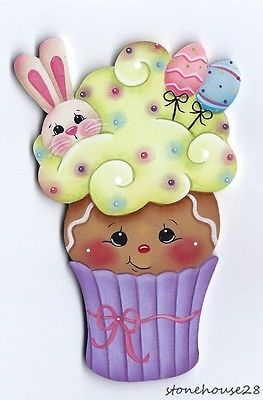 Hp-Pan-de-Jengibre-De-Pascua-Cupcake-Nevera-Iman