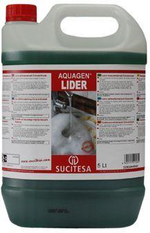 Aquagen Lider este un detergent profesional concentrat pentru vase, are actiune degresanta ridicata si nu lasa urme.