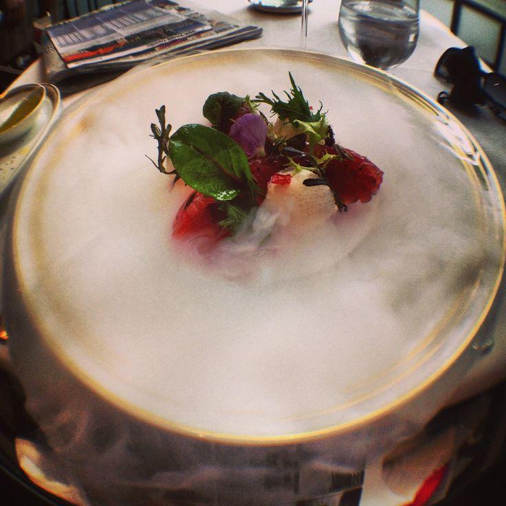 Tuna tartar at Apsleys, a Heinz Beck Restaurant, London