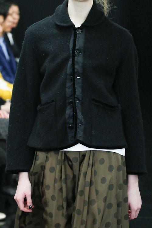 [No.51/73] tricot COMME des GARÇONS 2013~14秋冬コレクション | Fashionsnap.com