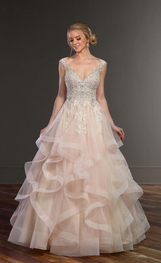 Featured Dress: Martina Liana; Wedding dress idea.
