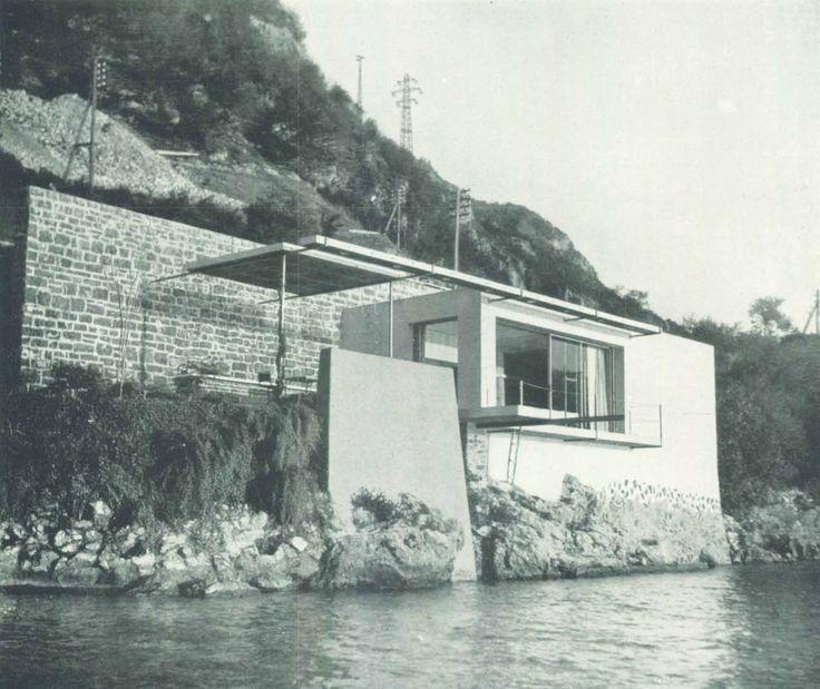 Giulio Minoletti, casa per il fine settimana per uno scapolo, Varenna, 1940