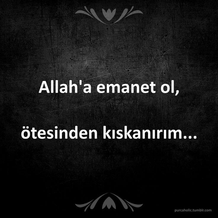 Allah'a emanet ol, ötesinden kıskanırım... #sözler #anlamlısözler #güzelsözler #özlüsözler #alıntı #alıntılar #alıntıdır #alıntısözler