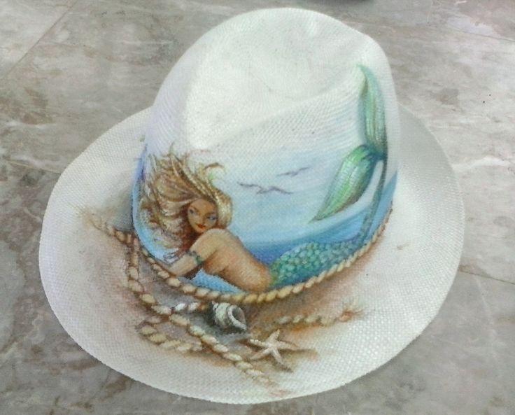 η μεταμορφωση του ταλαιπωρημένου καπέλλου των διακοπών μου