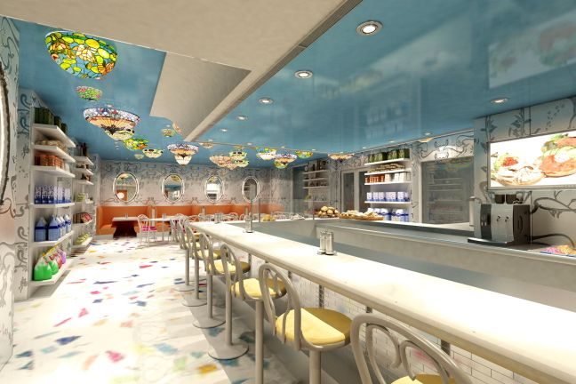 Serendipity Restaurant in Boca Raton Resort & Club.