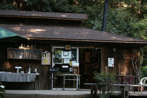 CALIFORNIA   l   Henry Miller moved to Big Sur in 1944. After his death, Miller's friend Emil White established the Henry Miller Library in the author's memory.