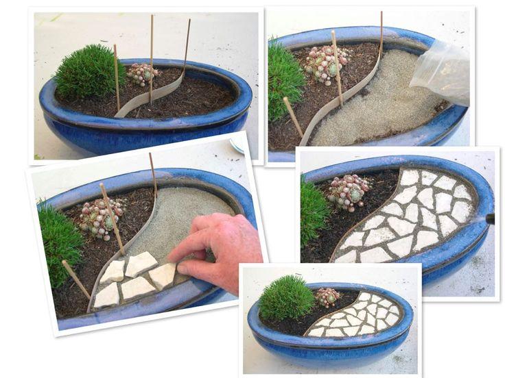 Mini Jardim em vasos Garden - Jardim Pinterest Minis ...