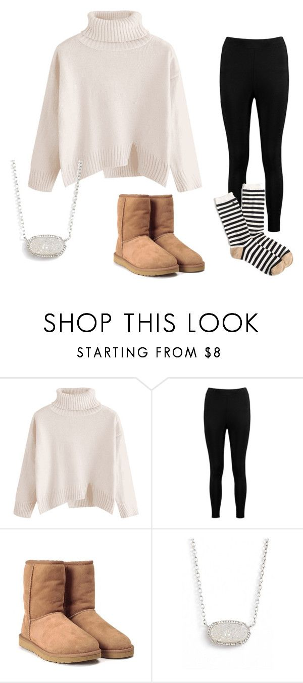 """C's dream outfit"" by lorla3407 on Polyvore featuring Boohoo, UGG Australia, Kendra Scott and J.Crew"