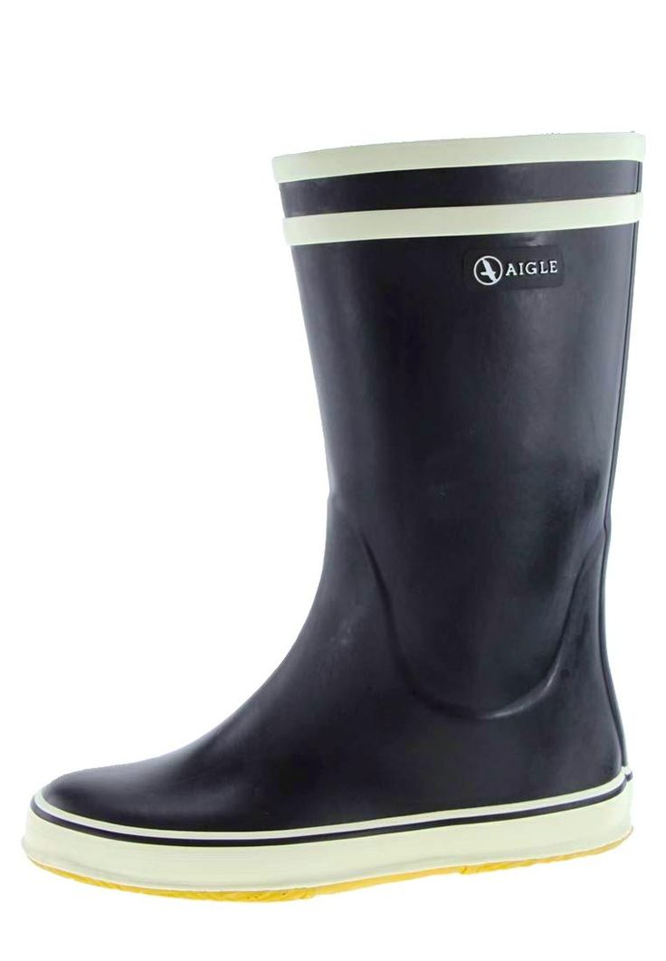Aigle -MALOUINE- Rubber Boots - the classic of the nautical boots… elegant at th