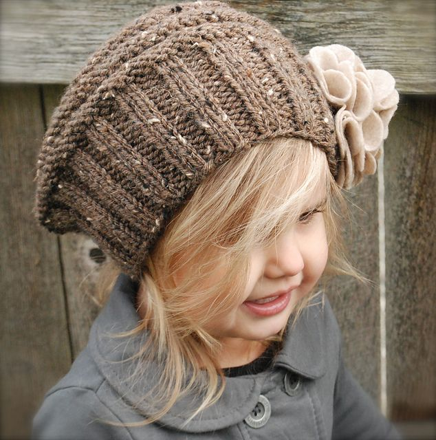 The Lilian Beret by Heidi May