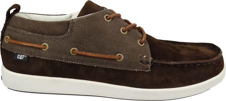 Mens Caterpillar Alec Deck Shoes Espresso Brown Mid Cut Casual 6 7 8 9 10 11 12 | eBay