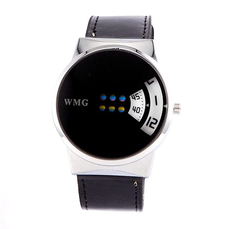Creative Hollow Out Dial Wristwatch Womens Fashion Dual Time Display Wrist Watch Black - Intl | Lazada PH