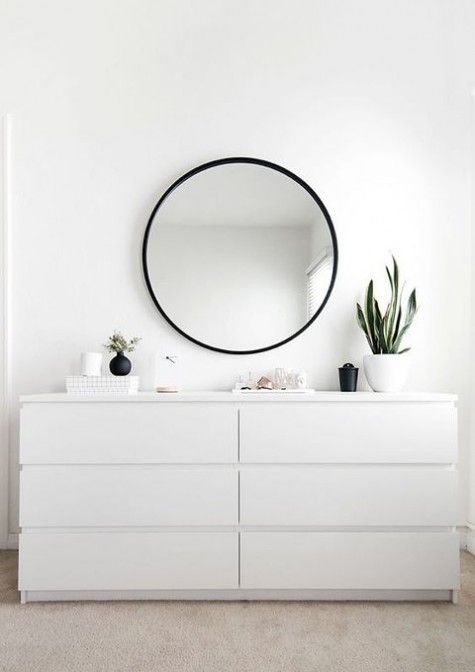 Use 2x IKEA MALM chest of drawers and use the gold contact hack  The number. Best 25  Large chest of drawers ideas on Pinterest   Mirror