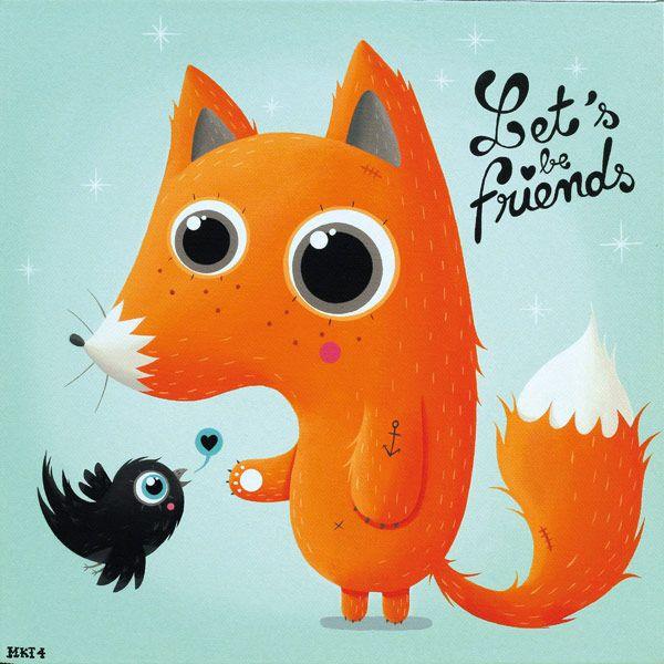 Let's be friends; por MKT4