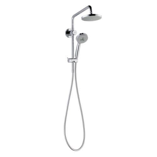 Hansgrohe 4526 Croma Shower System Upgrade with Hand Shower, 63 Hose and Shower Head - Eco Right 2.0 GPM (Chrome (Grey) Finish)