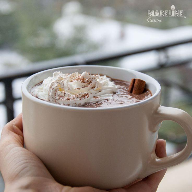 Ciocolata calda cremoasa / Creamy hot chocolate - Madeline's Cuisine