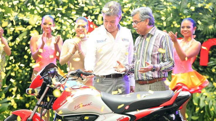 Hero Motocorp Colombia operations begin and is the first Indian manufacturer to set up a manufacturing unit in the country.