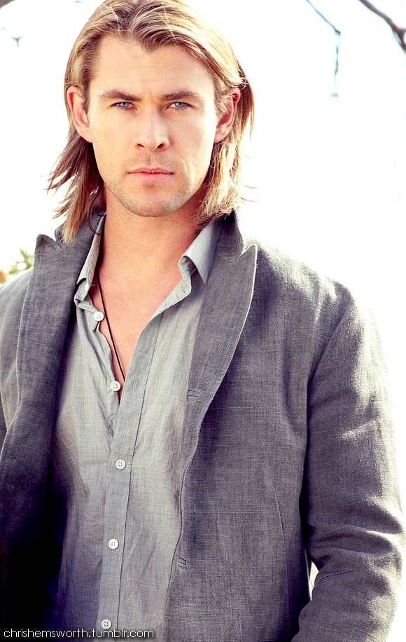 Chris Hemsworth = beautiful
