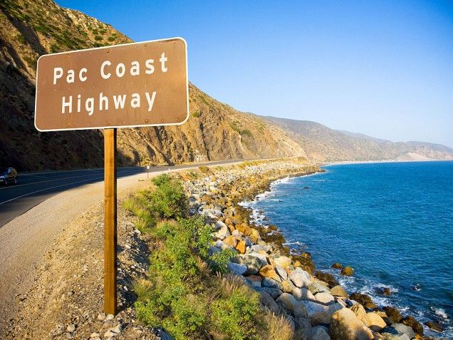Pacific Coast Highway Drive - From San Fran to LA. It's the mother of all road trips, with beyond-gorgeous scenery at every point along the way. Curvy Highway 1 winds along California's craggy coastal cliffs, high above the ocean.