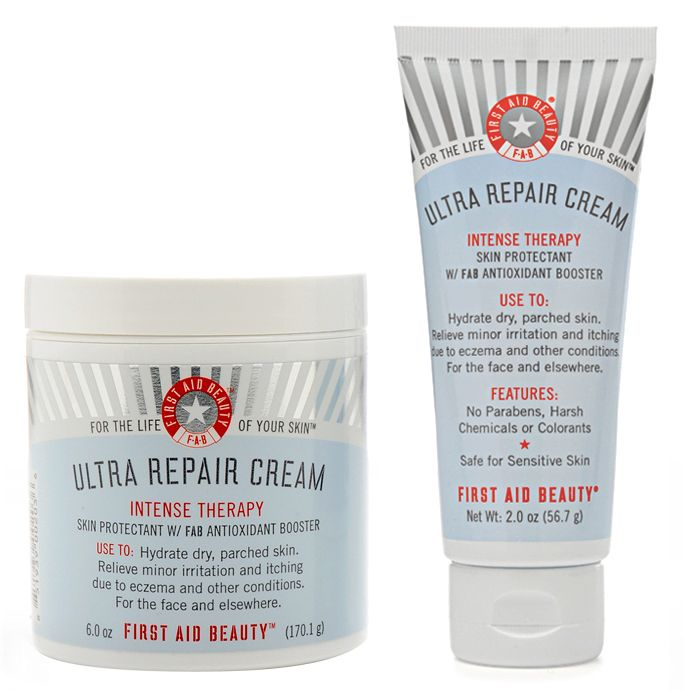 This stuff is inexpensive and calms all sorts of skin issues.... from breakouts, rosacea, or just really dry skin, it heals it all and isn't greasy!   @Andrea Goodchild
