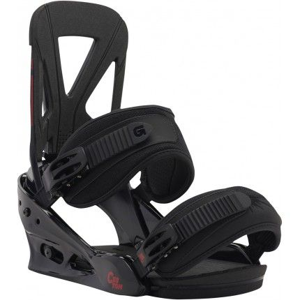 Burton Custom Bindings - Black/Red